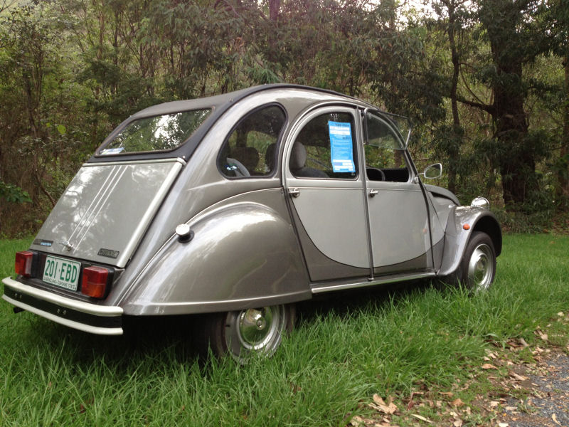 SOLD – 2cv Charleston for sale – Brisbane – 2CV Club Australia